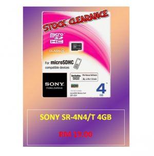 SONY SR-4N4/T 4GB