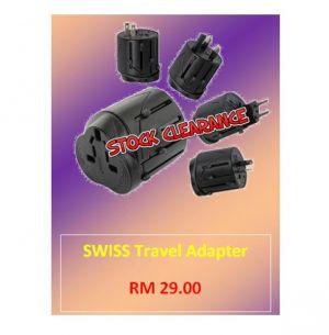 SWISS Travel Adapter